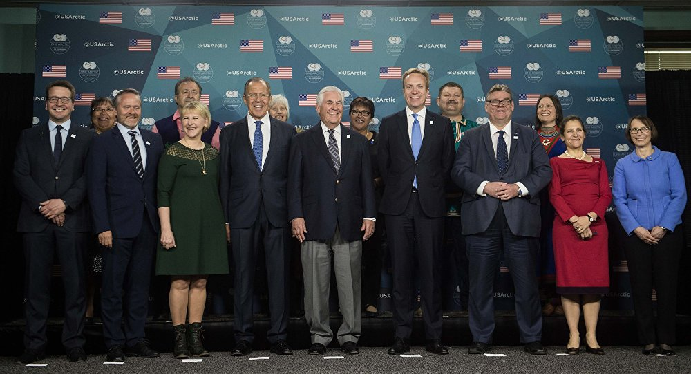 Reunión ministerial del Consejo Ártico (archivo)