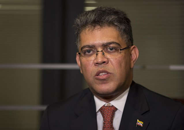 Elías Jaua, ministro de Educación de Venezuela