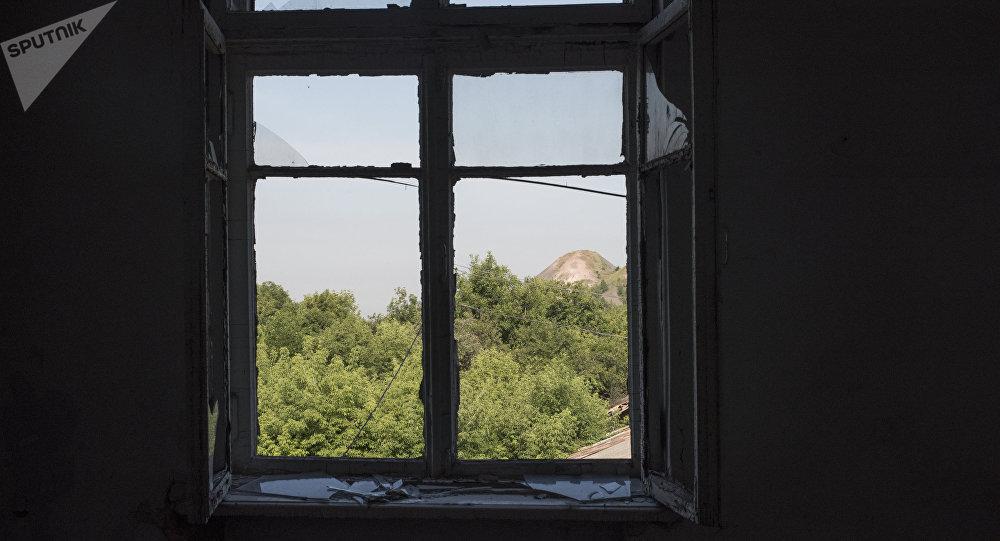 La situación en la ciudad de Górlovka en Donbás