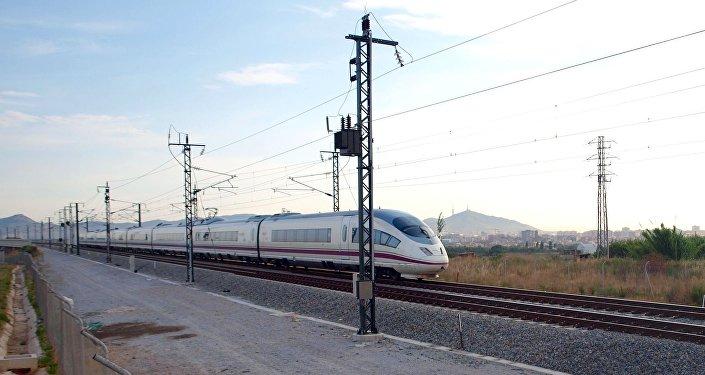 Un tren en España