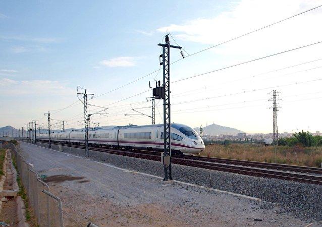 Un tren en España (imagen referencial)