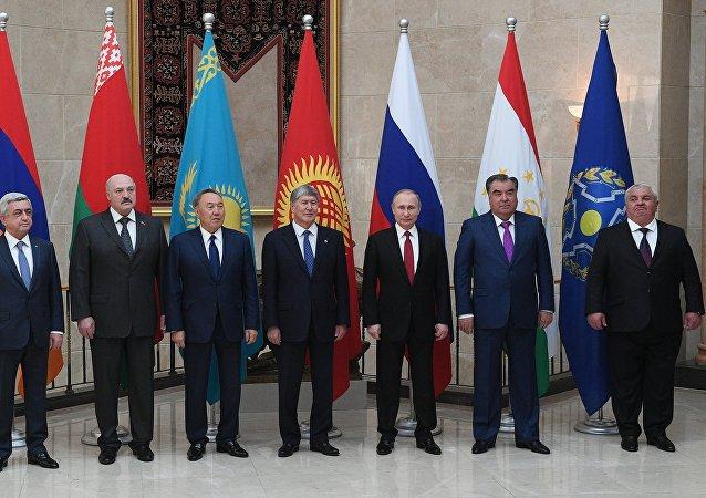 Los altos representantes de los países miembros de OTSC