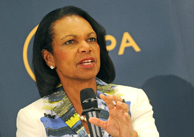 Condoleezza Rice, exsecretaria de Estado de EEUU (archivo)