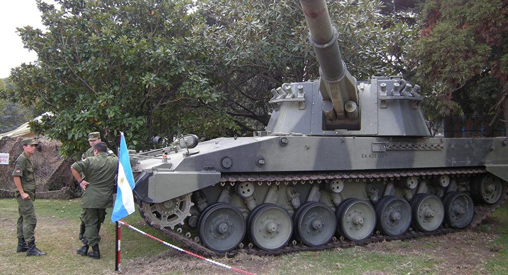 Vca palmaria la furia artillera de argentina sputnik mundo for Chusmerio argentino 2016