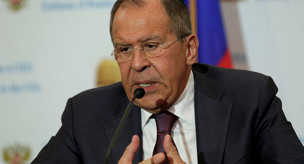 Serguéi Lavrov, el ministro de Asuntos Exteriores de Rusia
