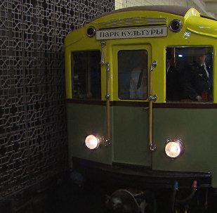Vídeo: recreación de la puesta en marcha del metro en Moscú