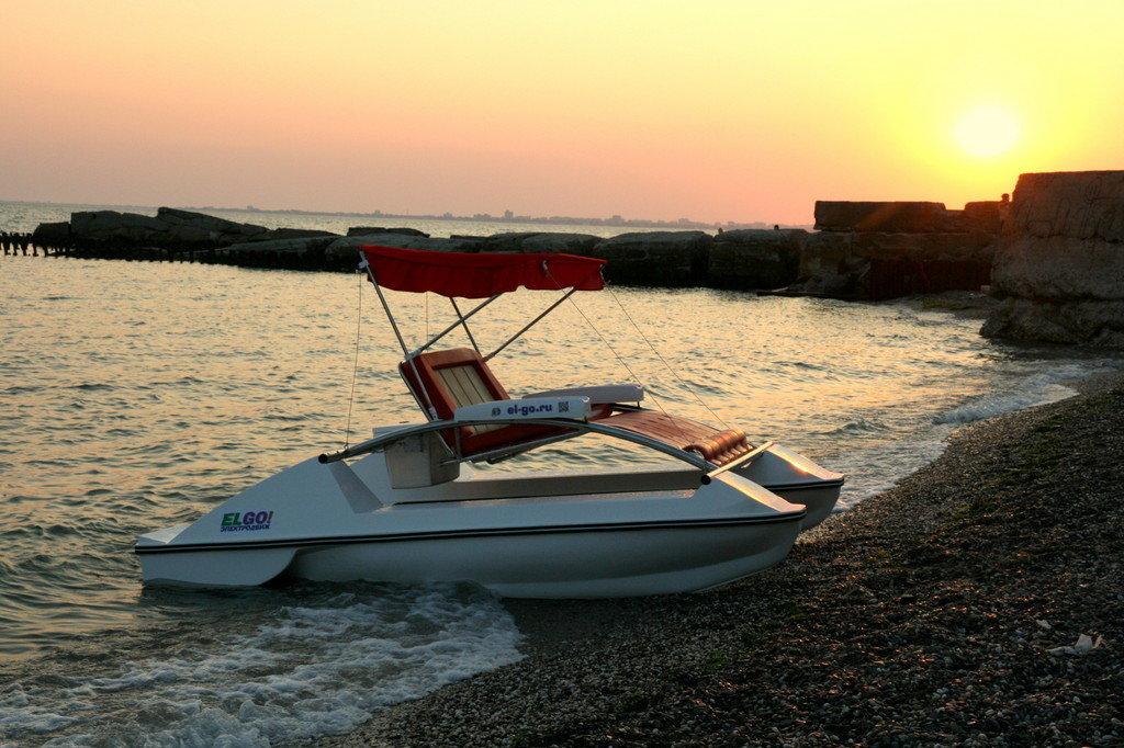 La versión básica del catamarán de recreo 'Briz'