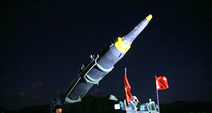 El misil balístico norcoreano Hwasong-12