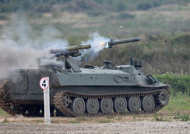 Complejo de misiles antitanques Shturm-SM