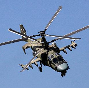 Helicóptero Ка-52 ruso