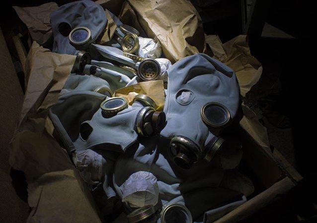 Máscaras antigás (imagen referencial)