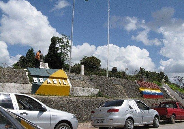 Frontera de Brasil y Venezuela