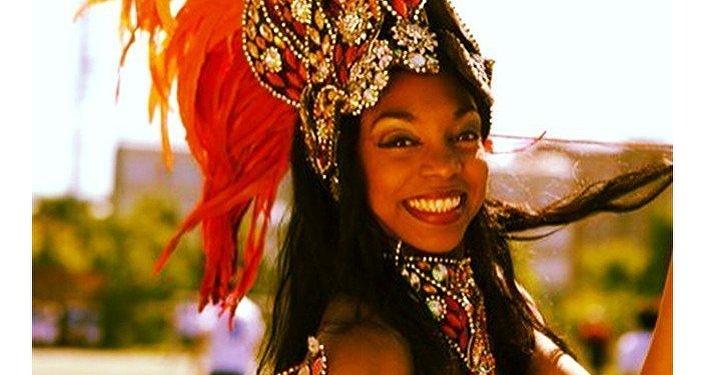 Maisa Claudia, bailarina y modelo cubana