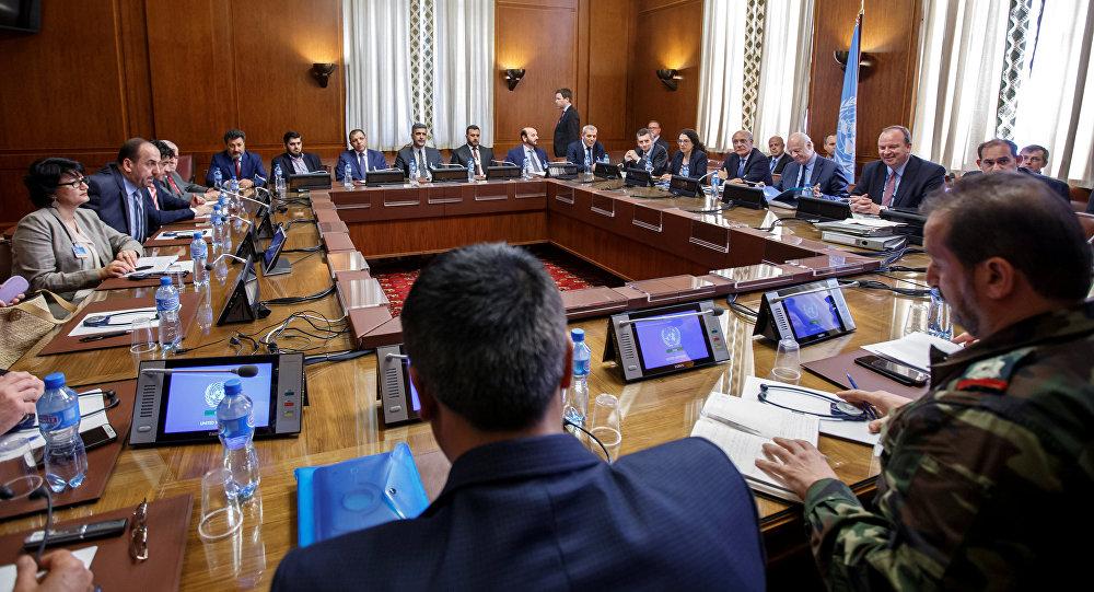 Negociaciones sirias en Ginebra (archivo)
