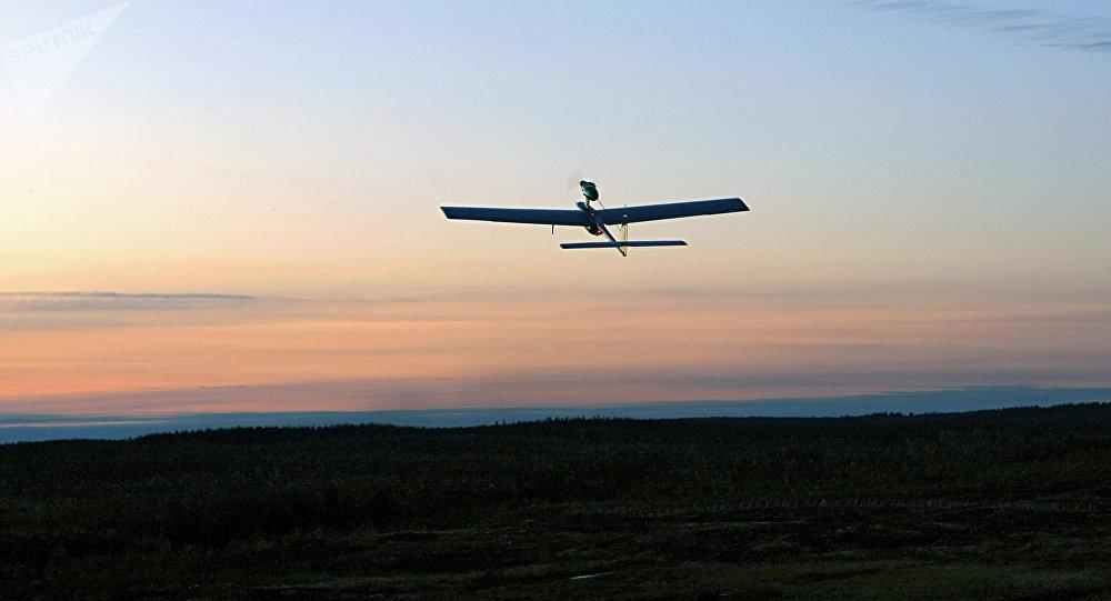 Un dron ruso