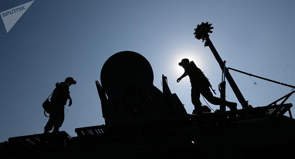 Las tropas de guerra electrónica de Rusia (archivo)