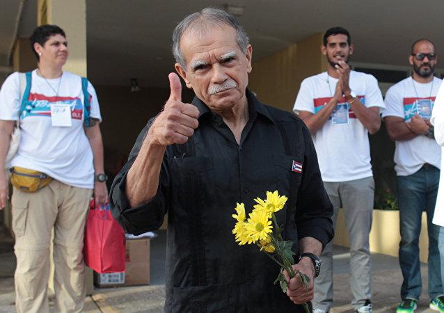 Oscar Lopez Rivera, líder nacionalista puertoriqueño