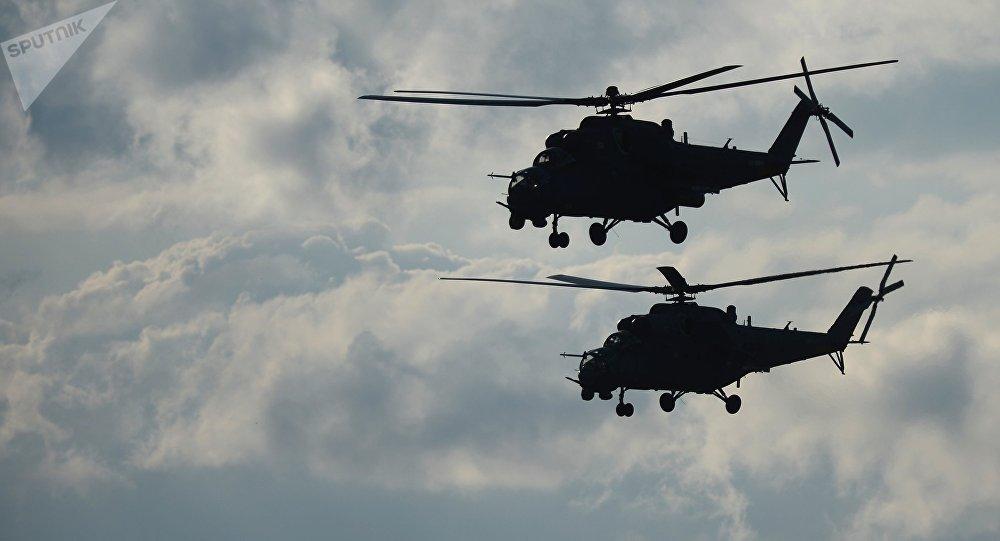 Helicópteros de combate Mi-35, Rusia
