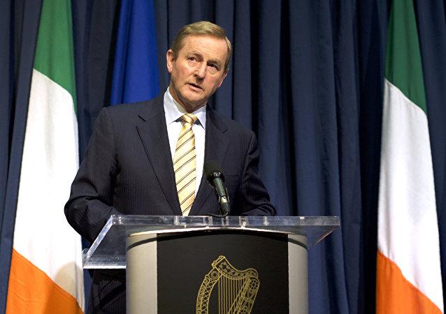 El primer ministro de Irlanda, Enda Kenny (archivo)