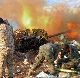 Militares sirios en la provincia de Latakia