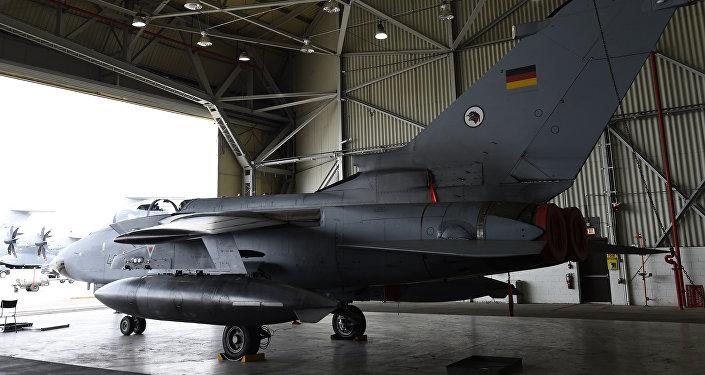 El avión alemán Tornado