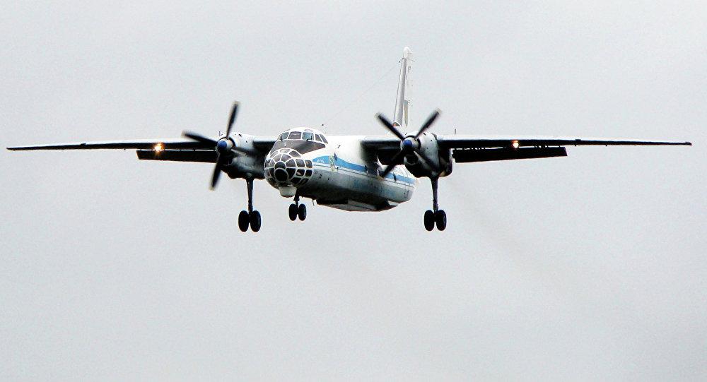 An-30 de las fuerzas aéreas ucranianas (archivo)