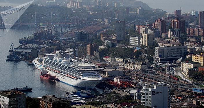 Puerto ruso de Vladivostok