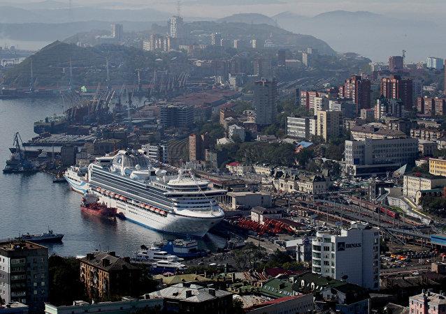 Puerto de Vladivostok, Lejano Oriente ruso