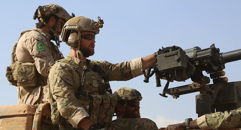 Las fuerzas especiales de EEUU en Siria