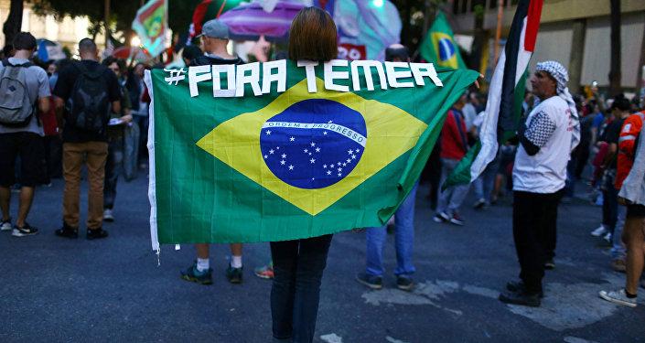 Temer, preocupado con su imagen internacional — Brasil