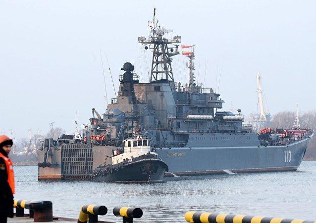 Buque de guerra de la Flota del Báltico