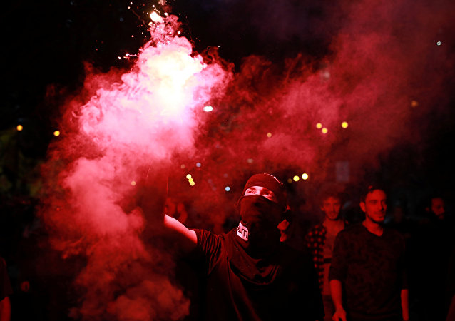 Protesta en Brasil contra el presidnte de país, Michel Temer