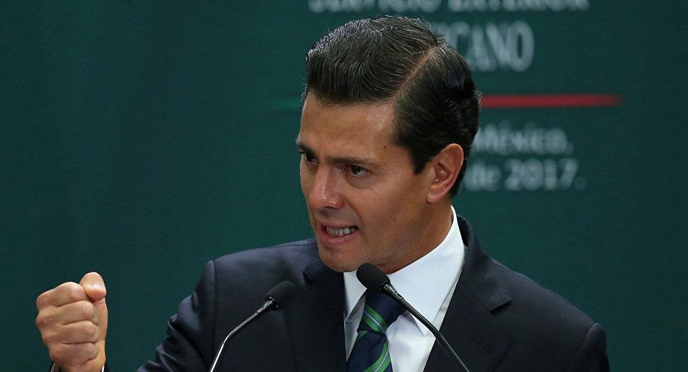Enrique Peña Nieto, presidente de México (archivo)