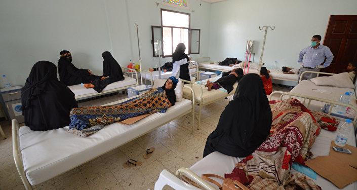 Un hospital en Yemen