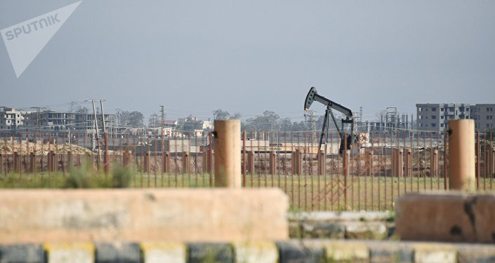 Un pozo de petróleo en Deir Ezzor, Siria