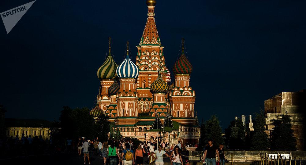 La catedral de San Basilio, en la Plaza Roja de Moscú