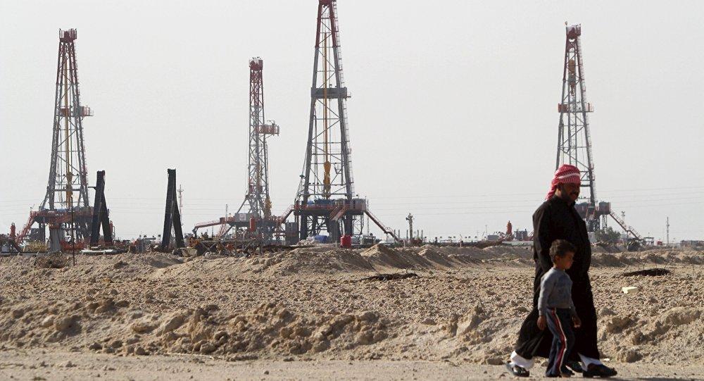 Los yacimientos petrolíferos en la provincia de Basra (Archivo)