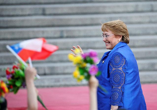 Michelle Bachelet, expresidenta de Chile (archivo)