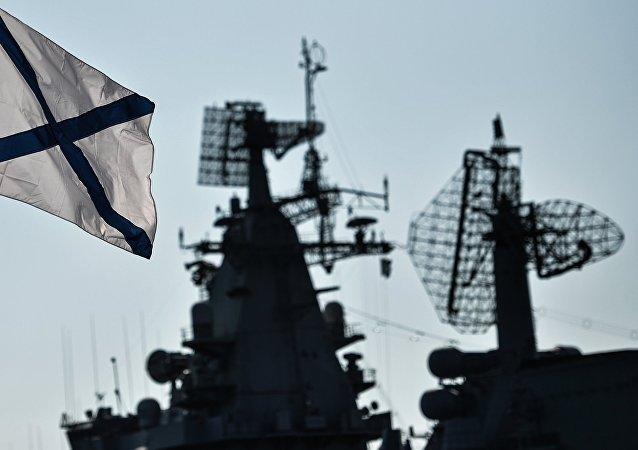 Los buques de la Flota del Mar Negro (imagen referencial)