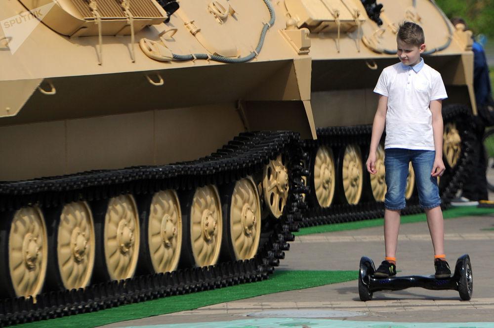 MILEX-2017: Bielorrusia 'muestra sus múculos'