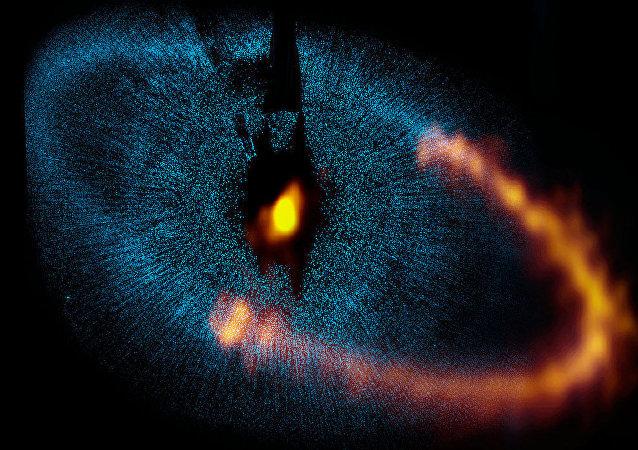 ALMA observa un anillo alrededor de la estrella Fomalhaut