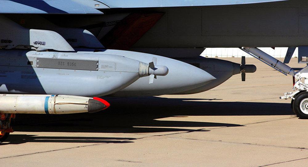 ALQ-99 en el avión EA-18G