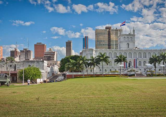 Asunción, capital de Paraguay