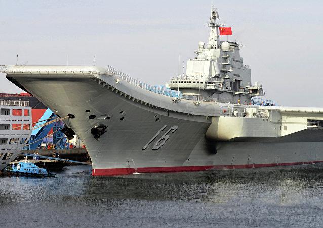 El portaviones chino Liaoning