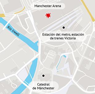 Atentado terrorista en el estadio Manchester Arena