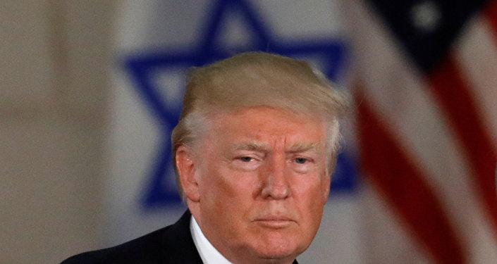 Donald Trump, presidente de EEUU, en Jerusalén (archivo)