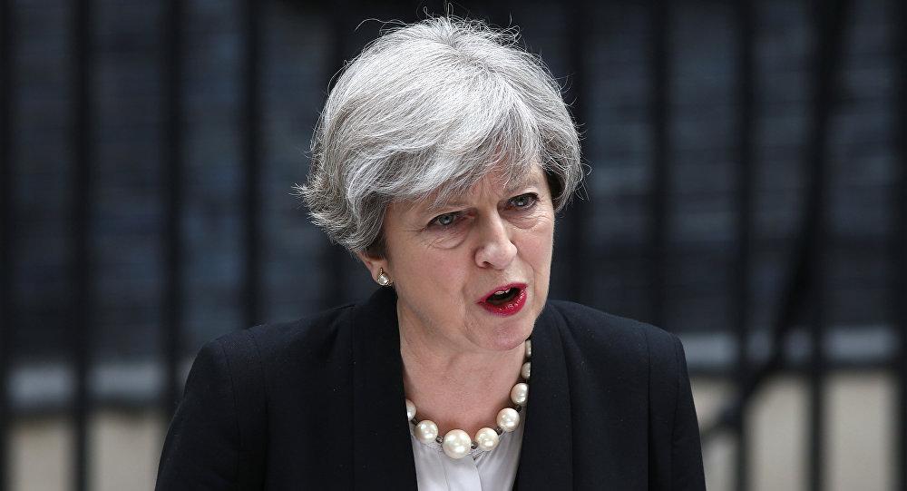 Theresa May, la primera ministra del Reino Unido (archivo)