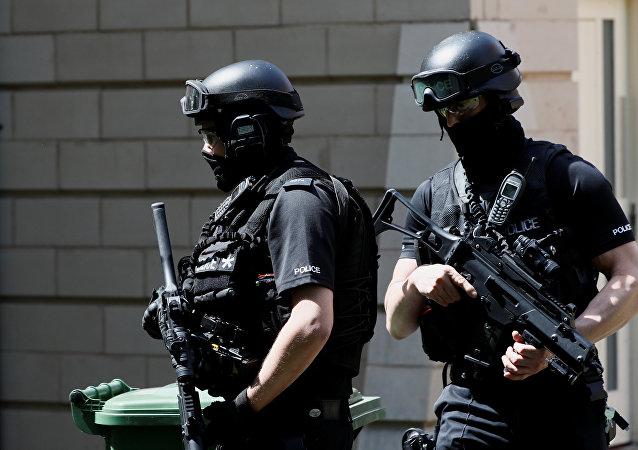 Policía britanica
