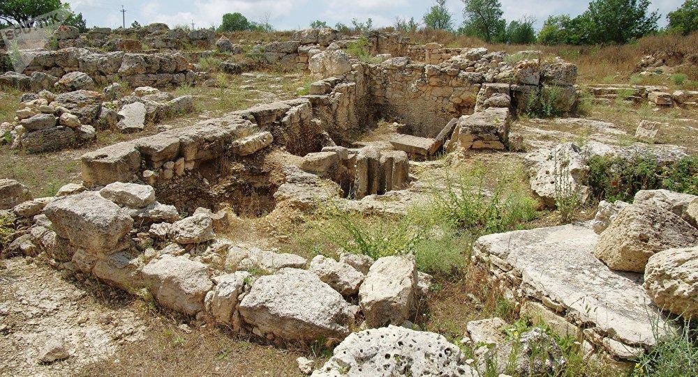 Excavaciones en Crimea