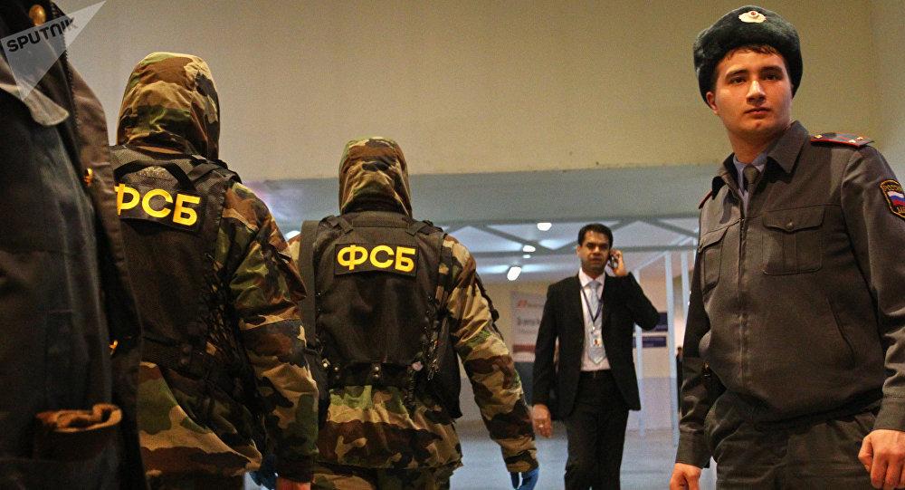 Oficiales del FSB (archivo)
